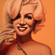Marilyn Monroe painting 5 by Paul Meijering