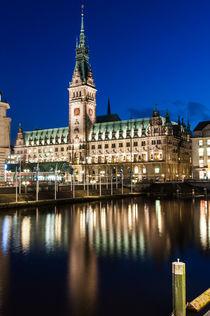 Hamburger Rathaus I by elbvue