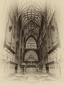 Saint Mary Redcliff, Nave & Organ. by Becky Dix