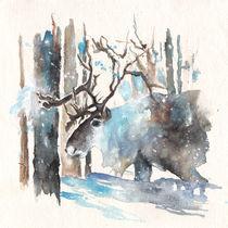 Moose from Finland von Miki de Goodaboom