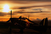 Hurricane Sunset by James Biggadike