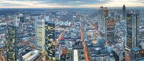 Frankfurt - Skyline  von Peter Janowski