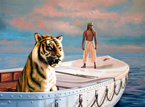 Life Of Pi Painting von Paul Meijering