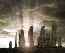 Callanish Standing Stones by Edmund Nagele F.R.P.S.