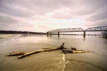 Chain of Rocks Bridge  by Rob Hawkins