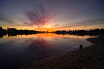 Marina Del Rey Sunrise  by Rob Hawkins
