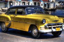 1953 Chevrolet Bel Air in Havana, Cuba von rene-photography