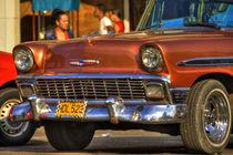 1956 Chevrolet Bel Air in Havana, Cuba (1) by rene-photography
