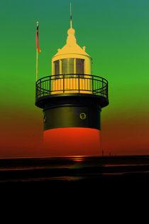 Leuchtturm 3 von Walter Zettl