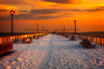 Coney Island Sunset by Chris Lord