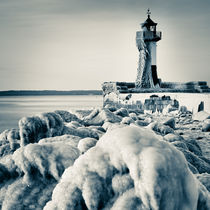 Frozen Lighthouse von David Pinzer