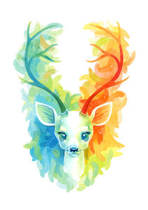 Feather Fawn by freeminds