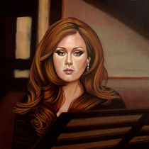 Adele painting von Paul Meijering