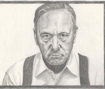 Kevin Spacey - Frank Underwood - House of cards by Michel Kress