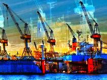 coloured dockyard von ursfoto
