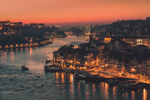Porto, Blue Hour von David Pinzer