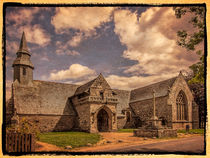 Bretonische Kirche by Uwe Karmrodt
