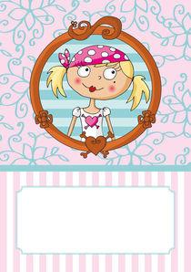 Pink Pirates® - Piratin Lulu von Gosia Kollek