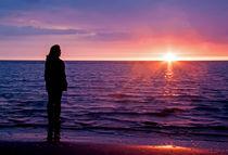 Watching the Sunset von Roger Green