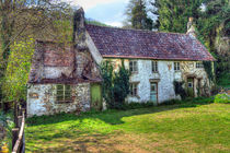 Dilapidated Cottages in Tintern by Steve H Clark Photography