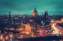 Amsterdam Blue Hour by David Pinzer