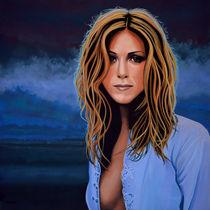 Jennifer Aniston painting von Paul Meijering