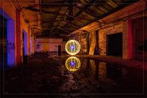 Geheimnissvolle Lichtkugel von Dennis Stracke