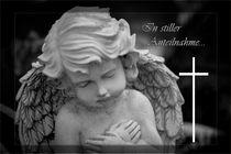 In stiller Anteilnahme Gedenkkarte / Grußkarte / Trauerkarte von Dennis Stracke