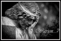 Warum Gedenkkarte / Grußkarte / Trauerkarte von Dennis Stracke