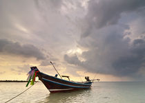 Sunset at tropical beach. Thailand, Koh Samui by perfectlazybones