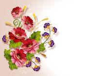 Floral background by larisa-koshkina