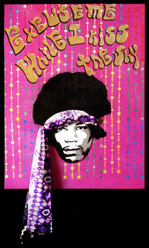 Purple Haze - Jimi Hendrix by Victor Cavalera