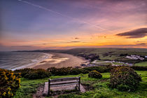 Woolacombe Bay sunrise by Dave Wilkinson