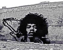 Jimi Hendrix Graffiti Tribute