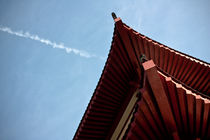 red chinese roof by rgb cmyk