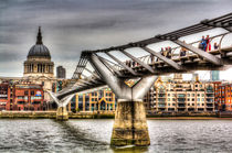 The Millennium Bridge by David Pyatt