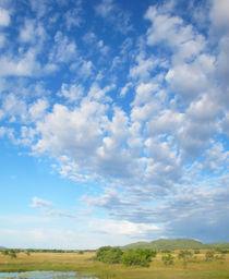 Wolkenfächer by reisemonster
