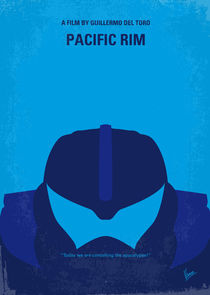 No306 My Pacific Rim minimal movie poster von chungkong
