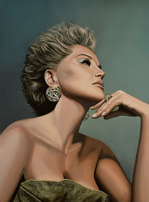 Sharon-stone-painting