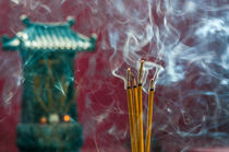 Incense stick, Vietnam by Luciano Lepre