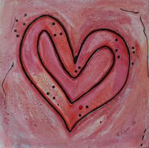 Herzchen rot von Franziska Giger