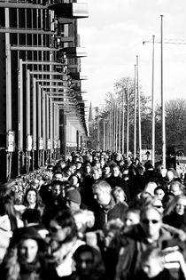 Menschenmasse von Bastian  Kienitz