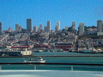 Cruising the Bay -- Digital Art von John Bailey