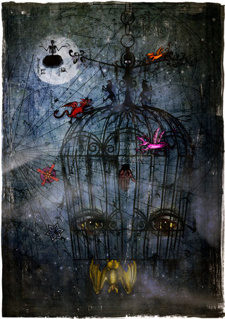 The-cage-iv-abandoned-c-sybillesterk