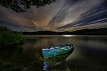 Little Green Boat von Buster Brown Photography