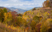 Autumn Colors On The Blue Ridge Parkway by John Bailey