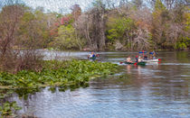 Kayaking On The Lazy River by John Bailey