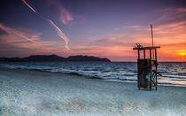 Sonnanaufgang auf den Balearen Mallorca von Dennis Stracke