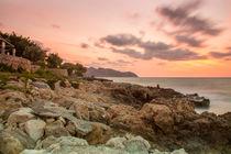 Traumhafter Sonnenaufgang auf Mallorca Cala Bona von Dennis Stracke