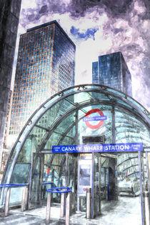 Canary Wharf Station Art by David Pyatt